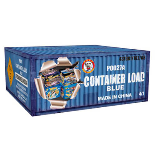 Container Load Blue 4 Pieces 500G Cakes
