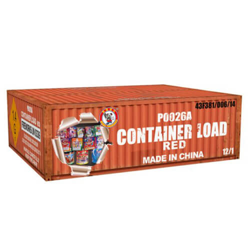 Container Load Red 12 Pieces 200G Cakes