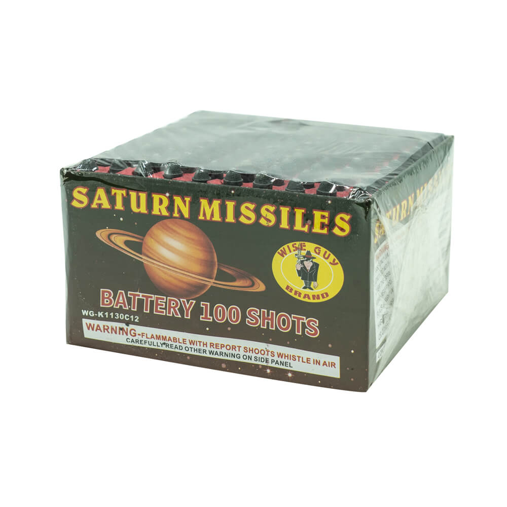 Wiseguy Saturn Battery 100 Shot