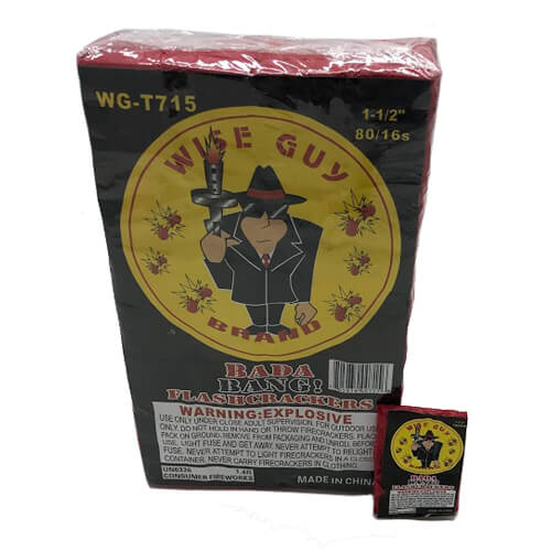 Wise Guy Brand Firecrackers 128016