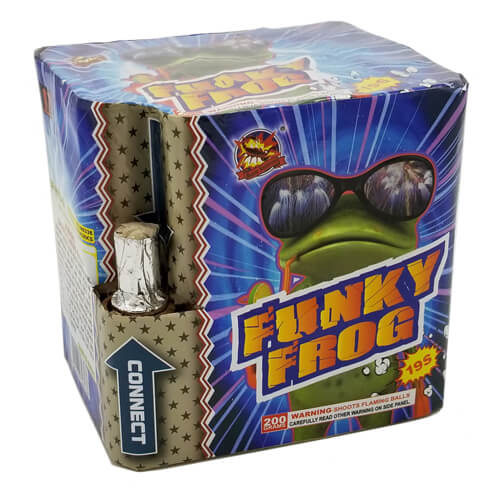 Funky Frog 2 Pyro Cube