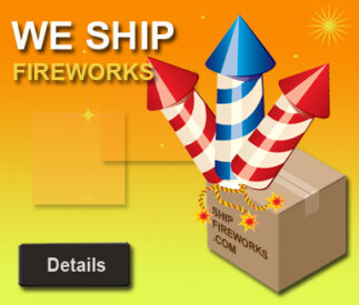 All fireworks sold and shipped by the case