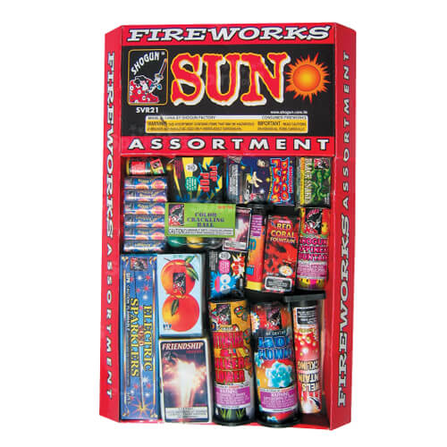 Sun Fireworks Assortment