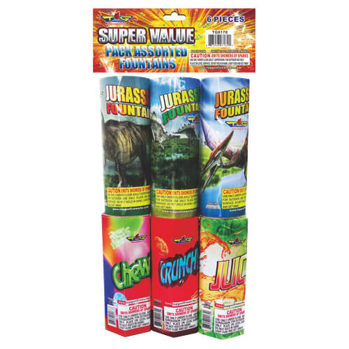 Super Value Pack Assorted Fountain